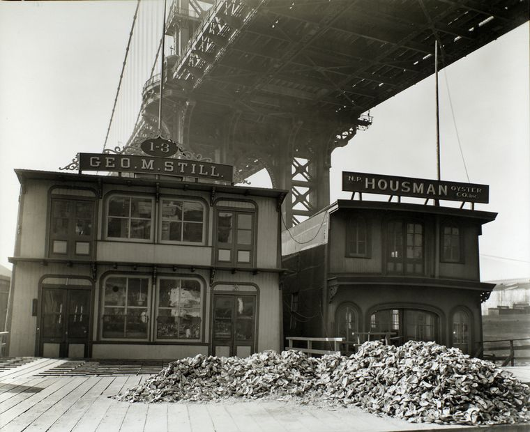 oyster houses south street and pike slip PC The Miriam and Ira D. Wallach Division of Art, Prints and Photography. The New York Public Library